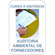 Curso à Distância - Auditoria Ambiental de Fornecedores