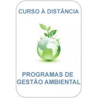 Curso à Distância - Programas de Gestão Ambiental